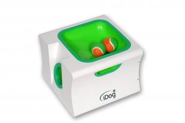 iDog midi (groß) -inkl. Fernbedienung- Ballwurfmaschine für Hunde -Apportiermaschine - Ballwurfautomat