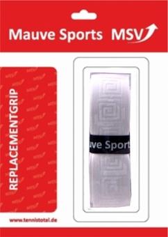 MSV Basis Grip Soft-Tac (geprägt), weiß