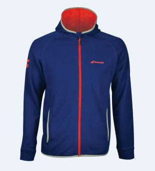 Babolat - CORE HOOD SWEAT - Estate Blue - Men - 2018