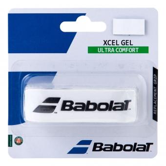 Babolat Xcel Gel 1er Pack - Weiß/Schwarz (2017)