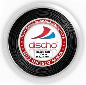 Neu! - Tennissaite - DISCHO BLACK ION (ROUGH) - 300 m