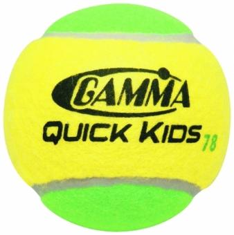 Tennisbälle - Gamma Quick Kids 78 Foam Balls- 12 er Pack