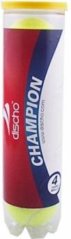 Tennisbälle - DISCHO Champion - 4er Dose - gelb