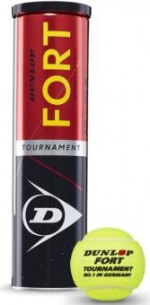 Tennisbälle - Dunlop Fort Tournament DTB - 2020