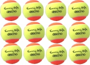 Tennisbälle - DISCHO Funny Soft - Methodik - Stage 2 - 12er Pack gelb/orange