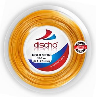 Tennissaite - DISCHO GOLD SPIN  - 200 m
