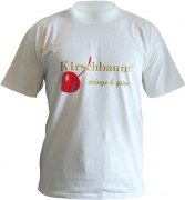 Kirschbaum - T-Shirt weiss