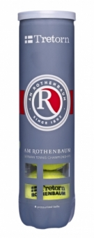Tennisbälle - Tretorn am Rothenbaum  - 4er Dose