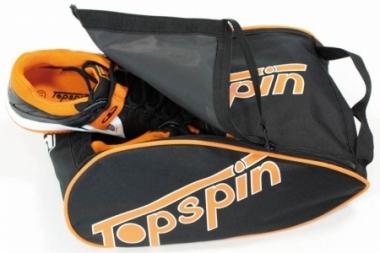 Schuhtasche- Topspin - Classic - schwarz/orange