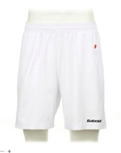 Babolat - Short Boy Club - Weiß
