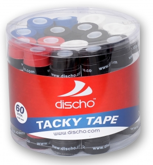DISCHO - TACKY TAPE bunt - 60er Box - 0,5 mm