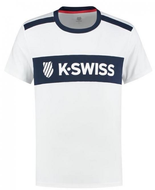 K-SWISS - HERITAGE SPORT LOGO TEE - Herren (2020)