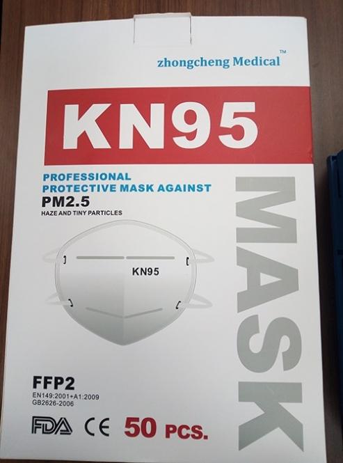 KN95 - FFP2 - Atemschutzmaske 95% Filter