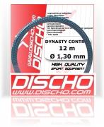 Neu! Tennissaite - DISCHO DYNASTY CONTROL (Grip & Control) Rauhe Oberfläche! - 12 m