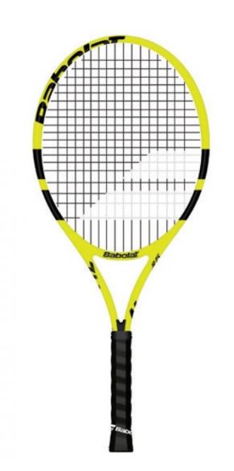 Tennisschläger- Babolat - Nadal Junior 25 - besaitet - 2019 140249