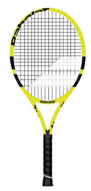 Tennisschläger- Babolat - Nadal Junior 26 - besaitet - 2019 140250