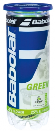 Tennisbälle- Babolat Green - 3 Bälle 501034