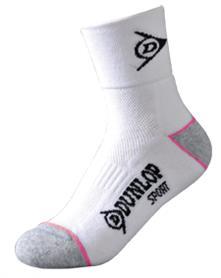 Dunlop - Sports Socks Women 4-8 white 29291