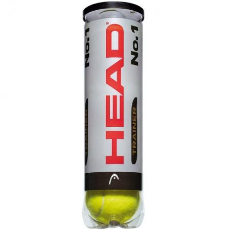 Tennisbälle- Head - No.1 Trainer - 4er Dose 576114