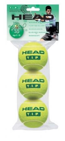 Tennisbälle- Head - 3B HEAD TIP grün 3er 578233