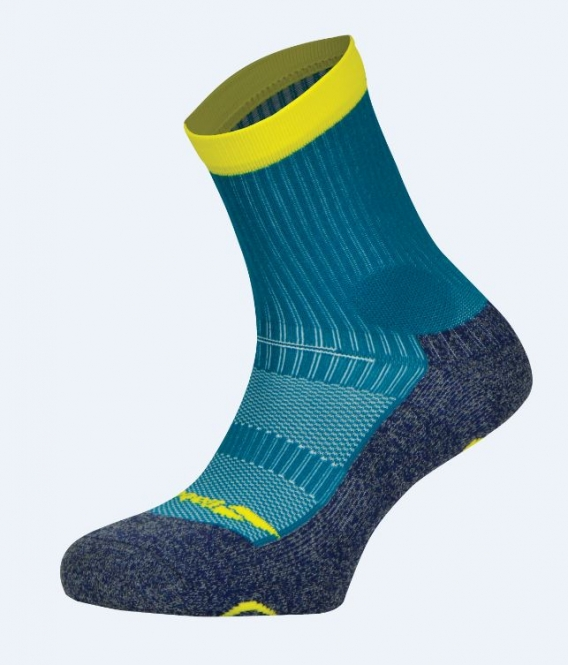 Babolat - Socken - PRO 360 MEN - Mosaic Blue/Blazing Yellow - 2018