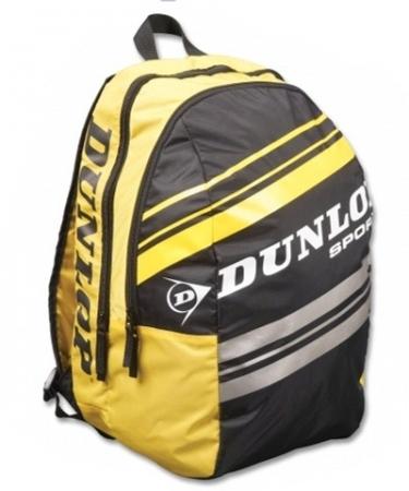 Rucksack- Dunlop Rucksack (Club Taschen Serie)schwarz-gelb 817074