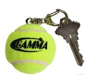 Gamma Tennis Ball Keychain AKEY