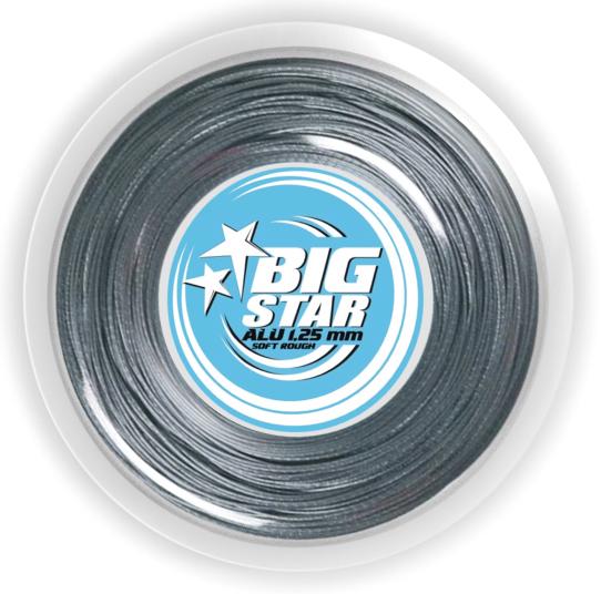 Tennissaite - BIG STAR - ALU  SOFT ROUGH - 200 m
