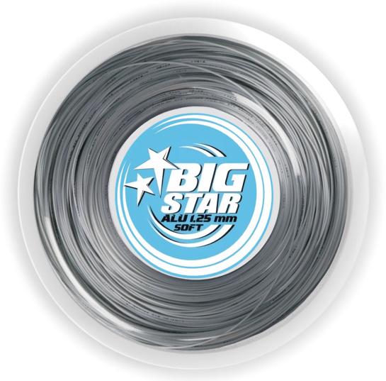 Tennissaite - BIG STAR - ALU  SOFT - 220 m