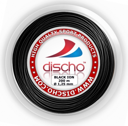Neu! - Tennissaite - DISCHO BLACK ION (ROUGH) - 300 m