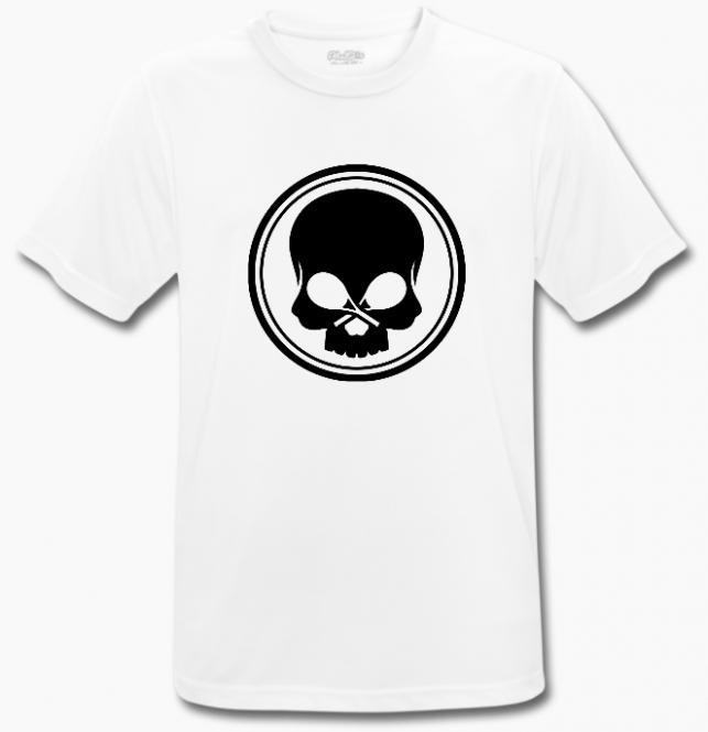 BLACK SKULL - T-Shirt - BeCool - weiĂź bs-tshirt-w