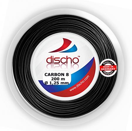 Tennissaite - DISCHO - CARBON 8 - 200 m
