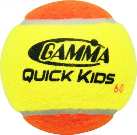 Tennisbälle - Gamma Quick Kids 60 Foam Balls- 12 er Pack CFSTB