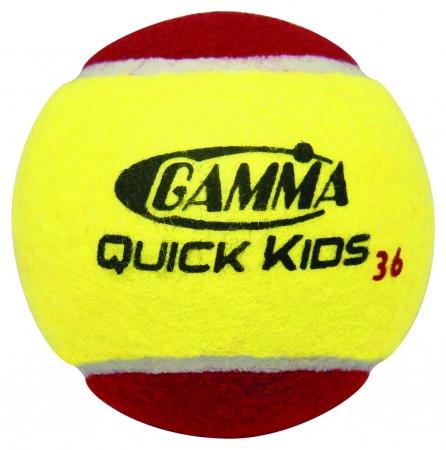 Tennisbälle - GammaQuick Kids 36 Foam Balls- 12 er Pack