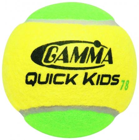 Tennisbälle - Gamma Quick Kids 78 Foam Balls- 12 er Pack CGQB3