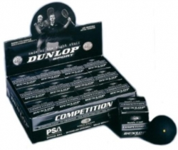 Squashball - Dunlop Competition 12 Stck