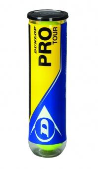 Tennisbälle - Dunlop Pro Tour - 4er Dose