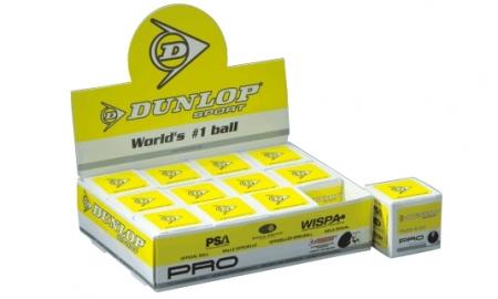Squashball - Dunlop Pro 12 Stck