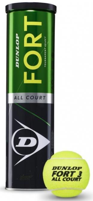 Tennisbälle - Dunlop Fort All Court TS - 2019 601316