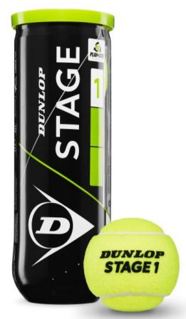 Tennisbälle - Dunlop Mini Tennis - Stage 1 - 3 Stck. - grün - 2019 601338