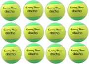 Tennisbälle - DISCHO Funny Tour - Methodik - Stage 1 - gelb/grün - 12 Bälle im Polybag