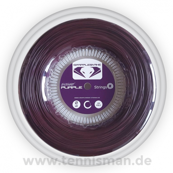 Tennissaite - Grapplesnake - Excellent Purple - 200 m