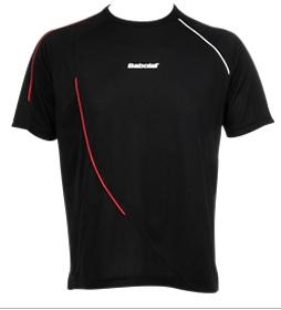 Babolat - T-Shirt Men Club Schwarz