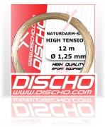 Tennissaite - DISCHO HIGH TENSION NATURAL GUT -Darmsaite - 12 m - natur d20153
