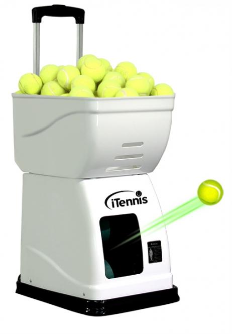 Ballwurfmaschine - iTennis 2015 - weiss