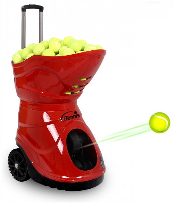 Ballwurfmaschine - iTennis W3 - rot