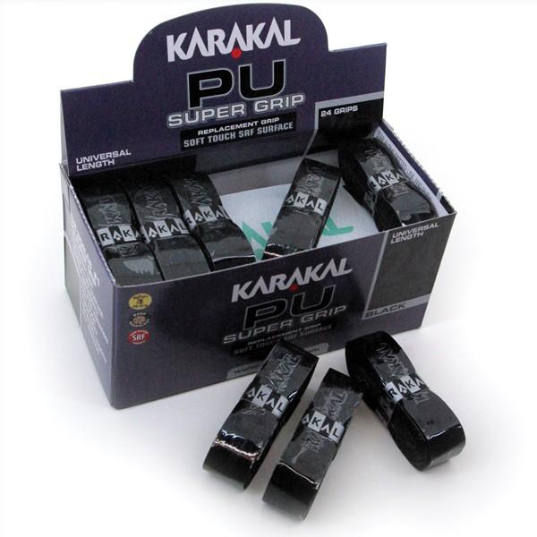 Karakal - PU Super Grip - Schwarz Box 24 KA667