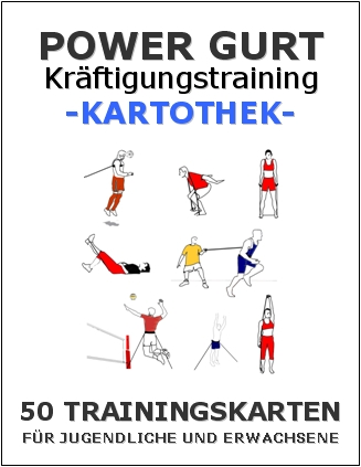 "Trainingskartothek - ""Training mit Powergurten 1087"