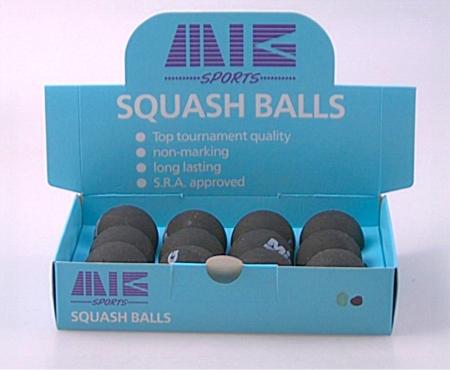 MIG SQUASH-BALL - 12er Pack 9300-12