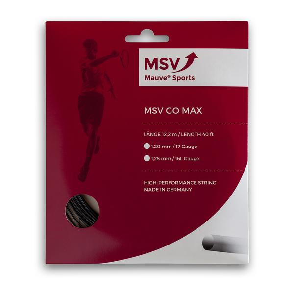 MSV GO MAX - 12,2 Meter -schwarz